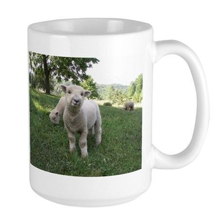Funny Face Large Mug
