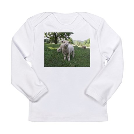 Funny Face Long Sleeve Infant T-Shirt
