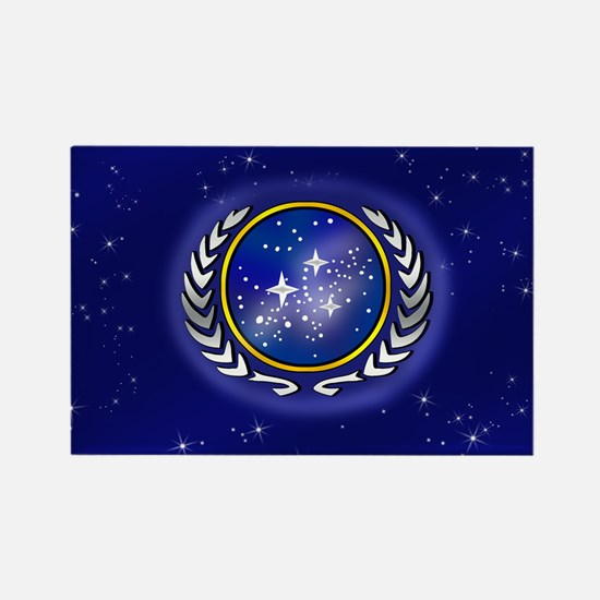 Federation Flag Rectangle Magnet