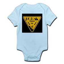 Yield to Shred - Mountain Bike Infant Bodysuit
