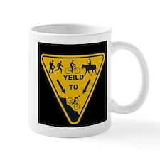 Yield to Shred - Mountain Bike Mug