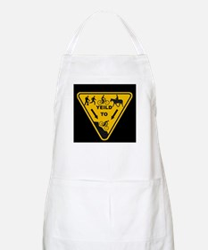Yield to Shred - Mountain Bike Apron