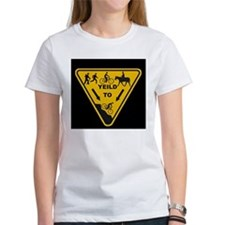 Yield to Shred - Mountain Bike Tee