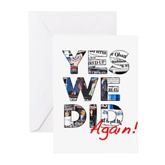 Yes We Did (Again): Obama 2012 Greeting Cards (Pk