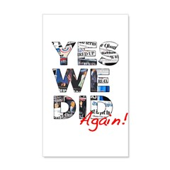 Yes We Did (Again): Obama 2012 Wall Decal
