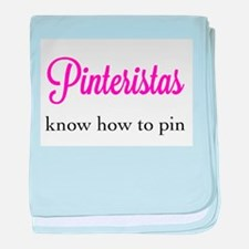 Pinteristas Know How to Pin T-shirt baby blanket