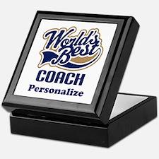 Personalized Coach Keepsake Box