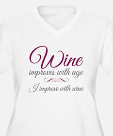Wine improves T-Shirt