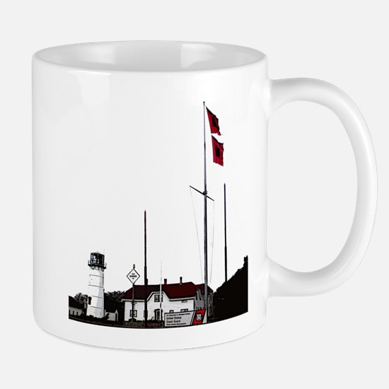 Hurricane Flags, Chatham Light Mug