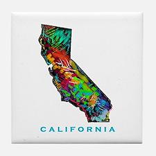 CALIFORNIA Tile Coaster