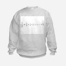 infinite sum of fractions Sweatshirt