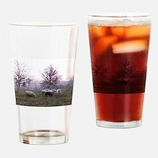 Late Fall Drinking Glass