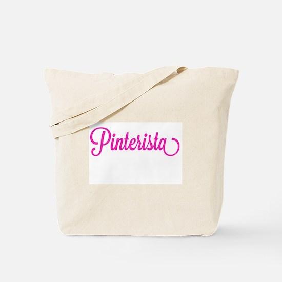 Pinterista T-shirt Tote Bag