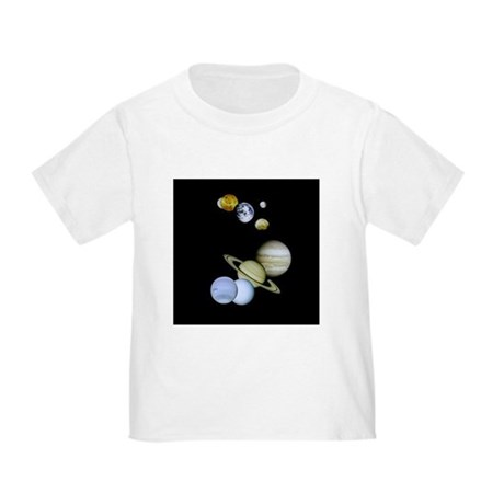 Solar System Toddler T-Shirt
