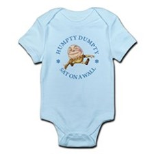 Humpty Dumpty Sat On A Wall Infant Bodysuit