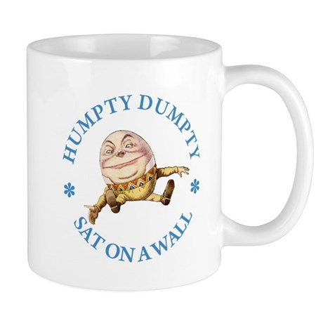 Humpty Dumpty Sat On A Wall Mug