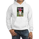 Ruby the Sassy Christmas Goat Hooded Sweatshirt
