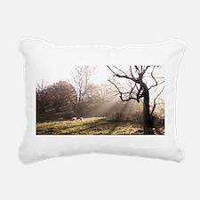 Light at Play Rectangular Canvas Pillow