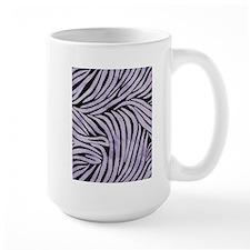 Purple and Black Zebra Print Mug