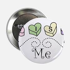 """Kiss Me 2.25"""" Button"""