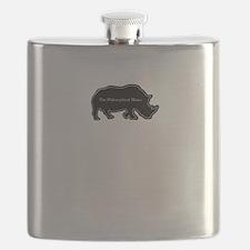 The philosophical rhino Flask