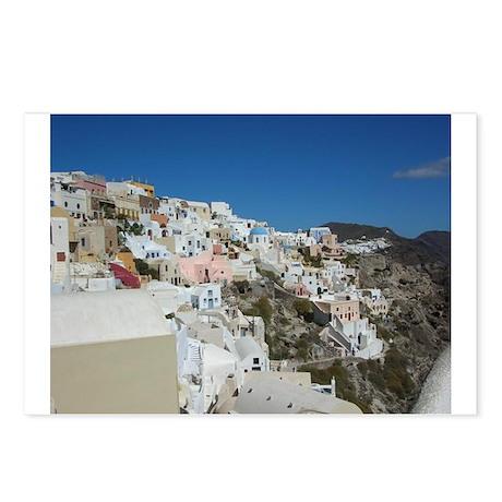 Oia Santorini Postcards (Package of 8)