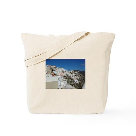 Oia Santorini Tote Bag