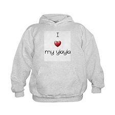 I Love Yia Yia Hoodie