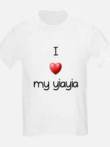 I Love Yia Yia T-Shirt
