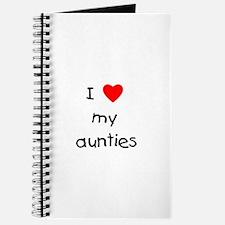 I love my aunties Journal