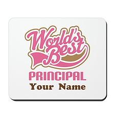 Personalized School Principal Mousepad