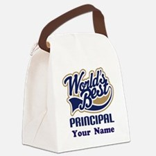 Personalized Principal Gift Canvas Lunch Bag