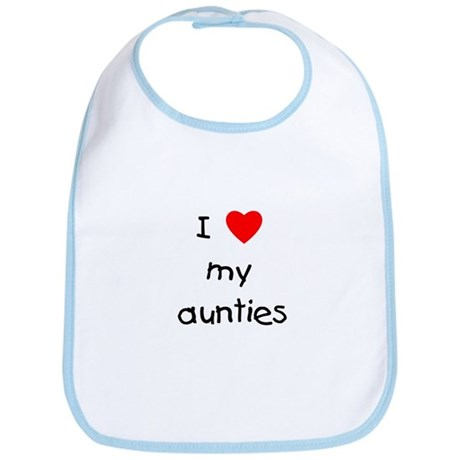 I love my aunties Bib