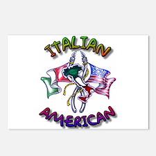 Proud Italian American Postcards (Package of 8)