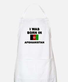 I was born in Afghanistan BBQ Apron