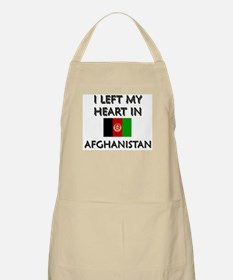 I left my heart in Afghanistan BBQ Apron