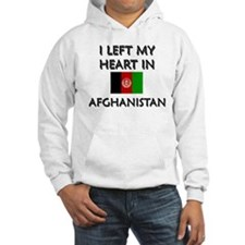 I left my heart in Afghanistan Hoodie