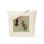 Vintage French Hummingbirds Tote Bag