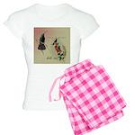 Vintage French Hummingbirds Women's Light Pajamas