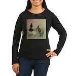 Vintage French Hummingbirds Women's Long Sleeve Da