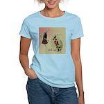 Vintage French Hummingbirds Women's Light T-Shirt
