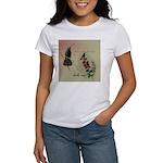 Vintage French Hummingbirds Women's T-Shirt