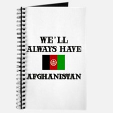 We will always have Afghanistan Journal