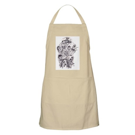 Scary Stories BBQ Apron