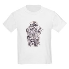 Scary Stories Kids T-Shirt