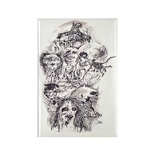 Scary Stories Rectangle Magnet
