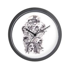Scary Stories Wall Clock