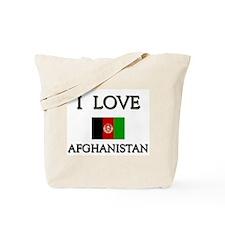 I Love Afghanistan Tote Bag