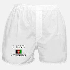 I Love Afghanistan Boxer Shorts
