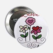"Love Grows Here 2.25"" Button"